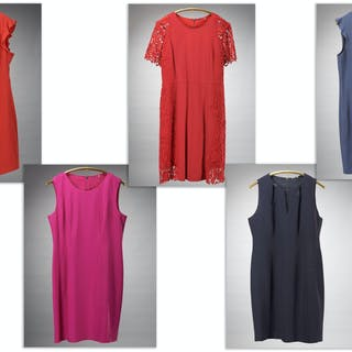 Group of Elie Tahari day wear dresses