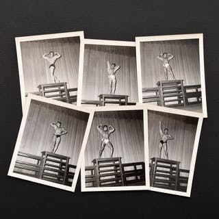 6 Bruce Bellas Male Bodybuilding/Physique Competition Photos & Negatives