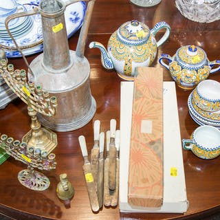 Assortment of Decorative Items and Accessories