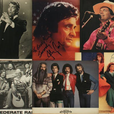 A CROONER AND COUNTRY LEGENDS