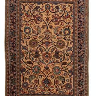 A Sarouk rug