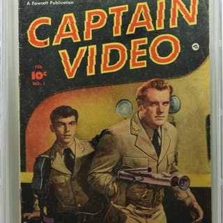 Fawcett Comics Captain Video #1 CBCS 4.0