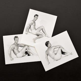 3 Bruce Bellas Nude Male Physique Photos - Bruce Bellas (1909-1974)