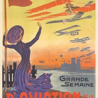 Grande Semaine d'Aviation. 1909.