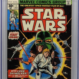 Marvel Comics Star Wars #1 CGC 9.0