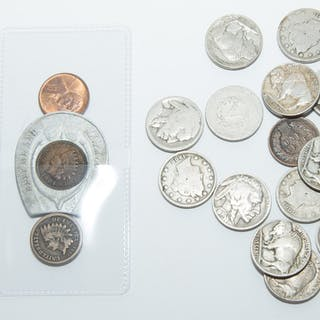 Good Assortment of Cents & Nickels