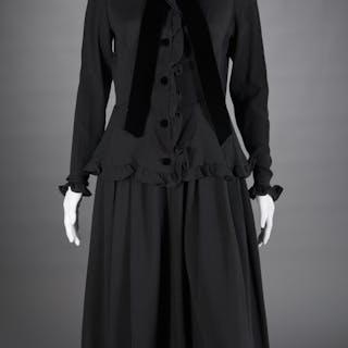 Vintage Valentino Boutique black dress