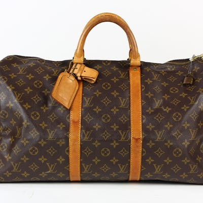 Louis Vuitton Keepall Bandouliere travel bag