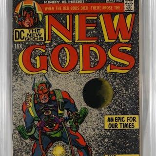 DC Comics New Gods #1 CBCS 7.0