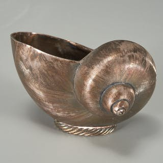 Tiffany & Co. sterling nautilus shell