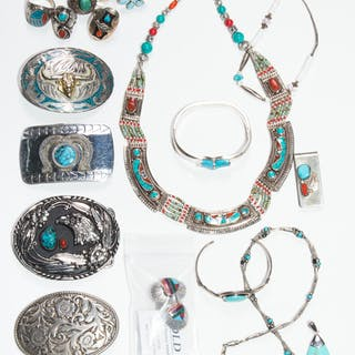 Selection of Southwestern Jewelry