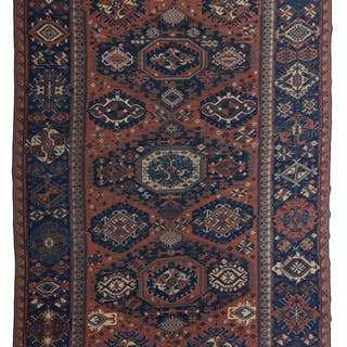 A large Soumak rug