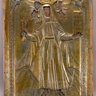 18th C. monumental Russian icon
