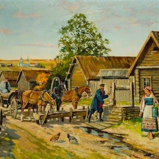 Konstantin Konstantinovich Kuznetsov (1895-1980 Russian)