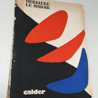 Derriere le Miroir, Alexander Calder 1971