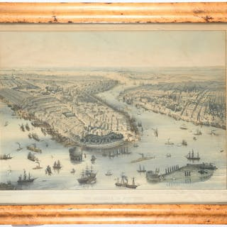 John Bachman, New York City lithograph