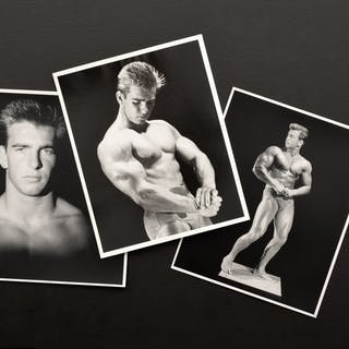 3 Bruce Bellas Male Physique Photos - Bruce Bellas (1909-1974), aka