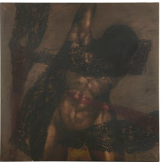 Marshall Arisman, large scale painting, 1987