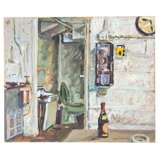 Robert Graham. Study of an Interior, Acrylic