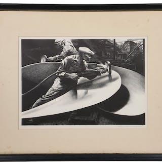 EDWARD ARTHUR WILSON (NY/MA, 1886-1970)