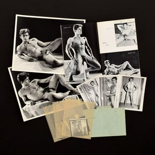 Bruce Bellas Nude Male Photos, Negatives, Catalog & Ephemera - Bruce