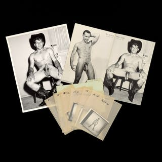 7 Bruce Bellas Nude Male Photos, Negatives, Catalog & Ephemera - Bruce