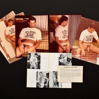 5 Bruce Bellas Archive Nude Physique Photos, Catalog & Ephemera -