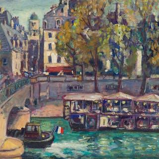 Humbert Curcuru (20th Century French)