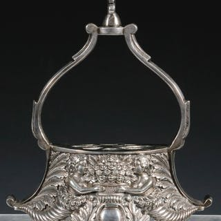 SPANISH COLONIAL SILVER STIRRUP