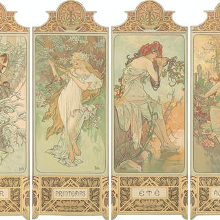 Four Seasons. 1896.