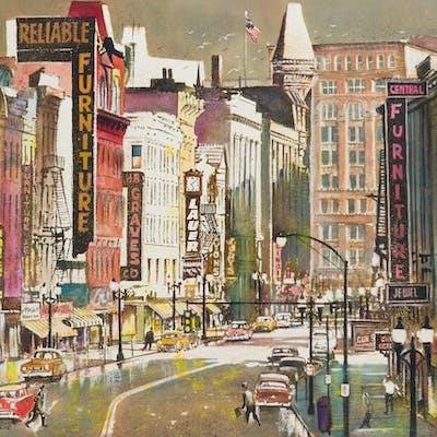Joseph E. Frederic (1916-2005 Rochester, NY)