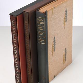 BOOKS: (3) Vols LEC, Sophocles, Virgil