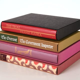 BOOKS: (4) Vols LEC, literature