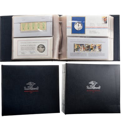 3 Years of Postmasters Medallic First Day Covers
