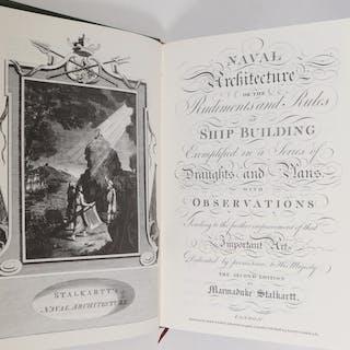 (2 VOLS) 1991 REPRINTS OF 1781 STALKARTT'S NAVAL ARCHITECTURE