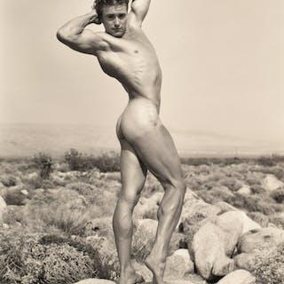 Large Nude Male Physique Photo, Bruce Bellas Estate - Bruce Bellas