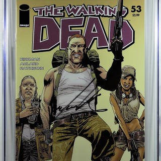 Image Comics Walking Dead #53 CGC 9.4 Cudlitz