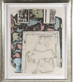 Jasper Johns. Untitled