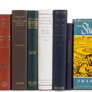SHENANDOAH VALLEY OF VIRGINIA HISTORY VOLUMES, LOT OF 11