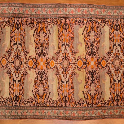 Antique Malayer Rug, Persia, 4.3 x 6.2