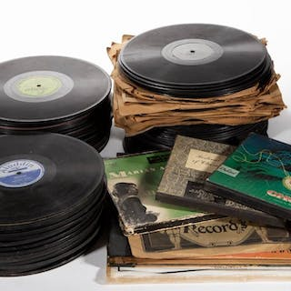 ASSORTED MUSIC GENRE RECORDS, UNCOUNTED LOT