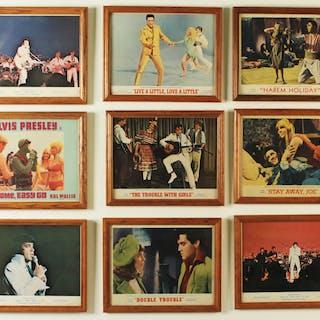 9 ELVIS PRESLEY LOBBY CARDS