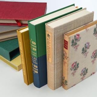 BOOKS: (4) Vols LEC, British literature