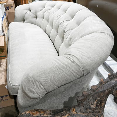 Contemporary Chesterfield style sofa