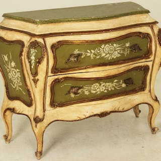 VENETIAN STYLE 2 DRAWER COMMODE