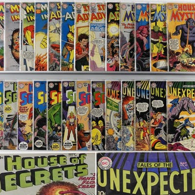28PC DC House of Mystery Space Strange Group