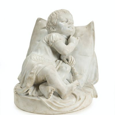 An Italian carved marble sculpture