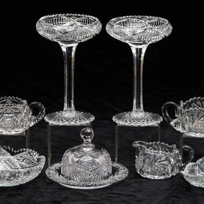 Cut Crystal Serving Items