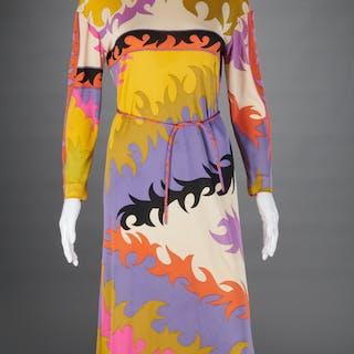 Emilio Pucci print chemise dress