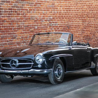 A 1961 Mercedes-Benz 190SL Convertible
